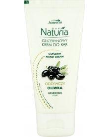 Joanna Naturia body Glicerynowy krem do rąk z oliwą z oliwek 50 g