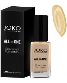 Joko podkład do twarzy All in One nr 111 Natural Beige 30ml