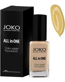 Joko podkład do twarzy All in One nr 113 Dark Beige 30ml