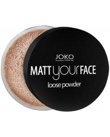 Joko puder do twarzy matujący Matt Your Face nr 20 11g