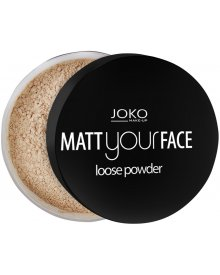 Joko puder do twarzy matujący Matt Your Face nr 21 11g