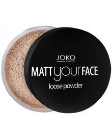Joko puder do twarzy matujący Matt Your Face nr 22 11g