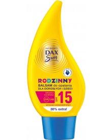 Dax Sun Rodzinny balsam do opalania dla dorosłych i dzieci SPF 15 250 ml