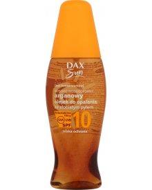 Dax Sun Arganowy olejek do opalania ze złocistym pyłem SPF 10 150 ml
