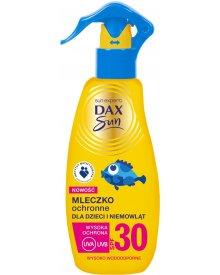 Dax Sun Mleczko ochronne do opalania dla dzieci i niemowląt, spray Spf30 150ml