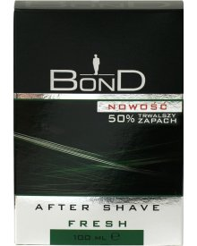 Bond Odświeżająco - kojąca woda po goleniu Fresh 100ml