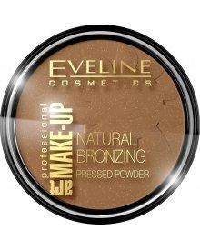 Eveline puder brązujący rozświetlający Art Professional Make Up nr 50 1szt