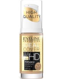 Eveline podkład do twarzy Ideal Cover Full HD matująco-kryjący nr 210 Natural Bronze 30ml
