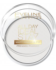 Eveline puder All Day Ideal Stay matująco-utrwalajacy Matt Finish & Fix nr 60 1szt