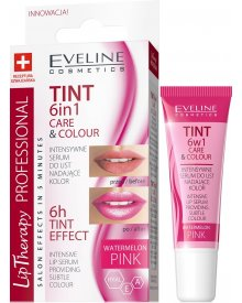 Eveline TINT CARE & COLOUR Serum do ust 6w1 pink