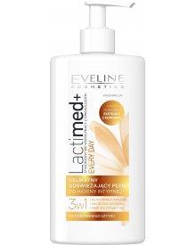 Eveline LactiMED+ delikatny, odświeżający płyn do higieny intymnej 3w1 Rumianek 250ml