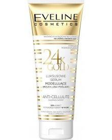 Eveline Body luksusowe serum modelujące brzuch uda i pośladki Gold 24K 250ml