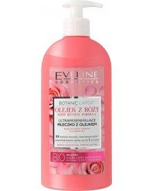 Eveline Body Botanic Expert ultraregenerujące mleczko różane z olejkiem 350 ml