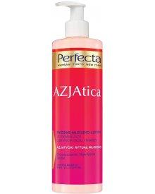 Perfecta AZJAtica ryżowe mleczko-lotion do demakijażu lub mycia oczu i twarzy Oczyszczanie, Nawilżenie, Detox 400ml