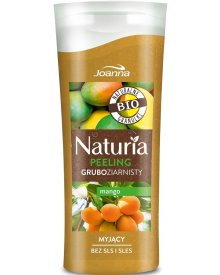 Joanna Naturia peeling do ciała gruboziarnisty Mango mini 100g