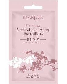 Marion Japoński Rytuał 3-minutowa maseczka do twarzy ultra nawilżająca 10ml