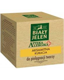 Biały Jeleń Apteka Alergika Aksamitna kuracja do pielęgnacji twarzy 60ml