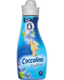Coccolino Creations Passion Flower & Bergamot Płyn do płukania tkanin koncentrat 750 ml