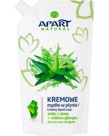 Apart Natural Kremowe mydło w płynie woda z aloesu + roślinna gliceryna 400 ml
