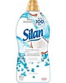 Silan Aromatherapy Coconut Water Scent & Minerals Płyn do zmiękczania tkanin 1800 ml (72 prania)