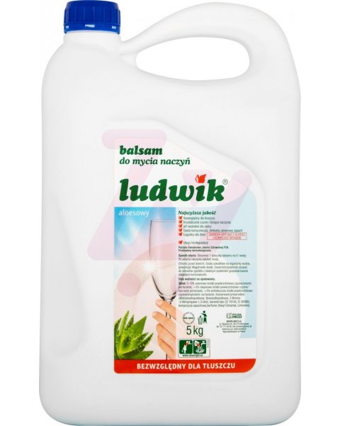 Ludwik Balsam do mycia naczyń aloesowy 5 kg