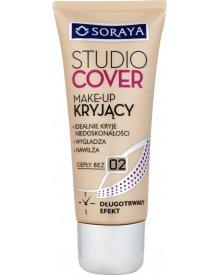 Soraya Studio Cover Make-up kryjący 02 ciepły beż 30 ml