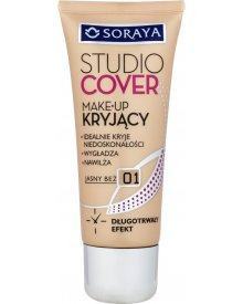 Soraya Studio Cover Make-up kryjący 01 jasny beż 30 ml