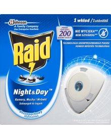 Raid Night & Day Komary muchy i mrówki Wkład do elektrofumigatora owadobójczego