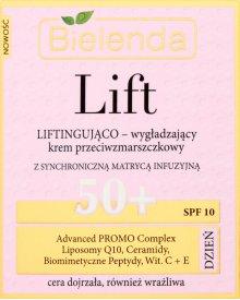 Bielenda Lift 50+ Liftingująco wygładzający krem przeciwzmarszczkowy na dzień 50 ml