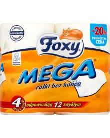 Foxy Mega Papier toaletowy 4 rolki
