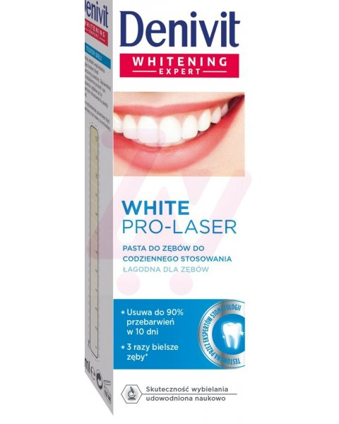 Denivit Pro-Laser White Pasta do codziennego użytku 50 ml