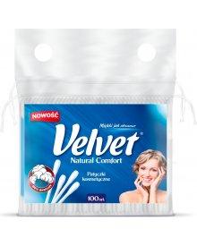 Velvet Natural Comfort Patyczki kosmetyczne 100 sztuk