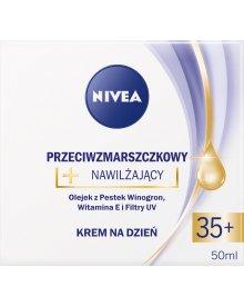 NIVEA Przeciwzmarszczkowy + nawilżający krem na dzień 35+ 50 ml