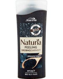 Joanna Naturia Peeling drobnoziarnisty aktywny węgiel 100 g