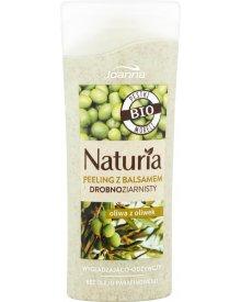 Joanna Naturia Peeling z balsamem drobnoziarnisty oliwa z oliwek 100 g