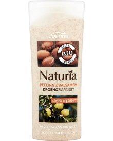 Joanna Naturia Peeling z balsamem drobnoziarnisty olejek arganowy 100 g