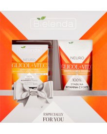 Bielenda Neuro Glicol + Vit. C Zestaw kosmetyków