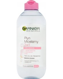 Garnier Skin Naturals Płyn micelarny 3w1 skóra wrażliwa 400 ml
