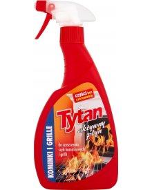 Tytan Aktywny płyn do czyszczenia szyb kominkowych i grilli 500 g