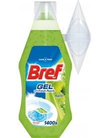 Bref WC with Fresh Pearls Apple Żel do toalet 360 ml