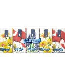 Soft & Easy Chusteczki higieniczne 3 warstwowe 10 x 10 sztuk