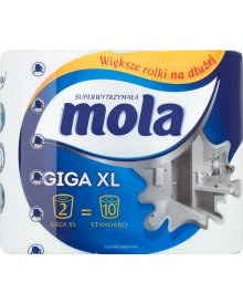 Mola Giga XL Ręczniki papierowe 2 rolki