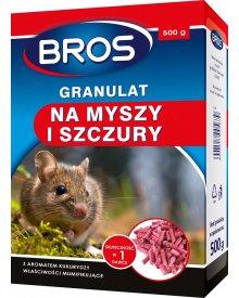 BROS granulat na myszy i szczury 500g