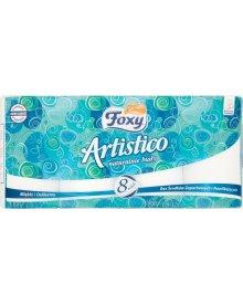 Foxy Artistico Naturalnie biały Papier toaletowy 8 rolek