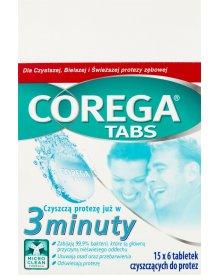 Corega Tabs Tabletki czyszczące do protez 15 x 6 tabletek
