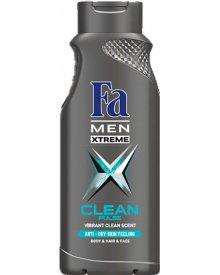 Fa Men Xtreme Clean Pulse Żel pod prysznic 400 ml