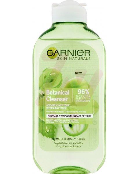 Garnier Botanical Cleanser Odświeżający tonik ekstrakt z winogron 200 ml
