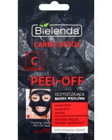 Bielenda Carbo Detox Oczyszczająca maska węglowa cera mieszana i tłusta 2 x 6 g