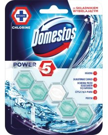 Domestos Power 5 Chlorine Kostka toaletowa 55 g