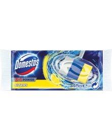 Domestos 3w1 Citrus Kostka toaletowa Opakowanie uzupełniające 40 g